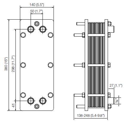 Уплотнения теплообменника Этра ЭТ-152с Биробиджан