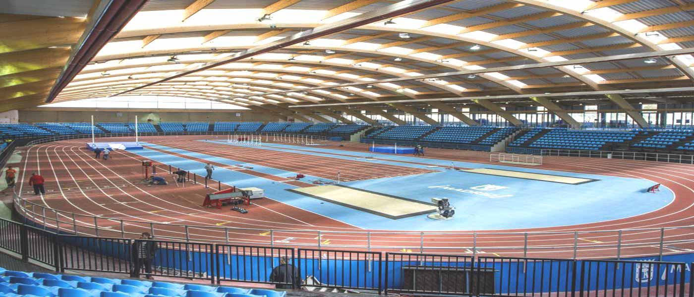 Instalación Calefacción Radiante en Polideportivo