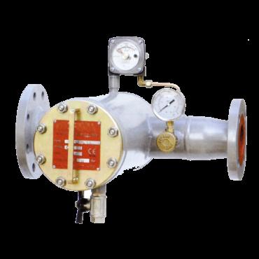 filtro de gas tipo cesta